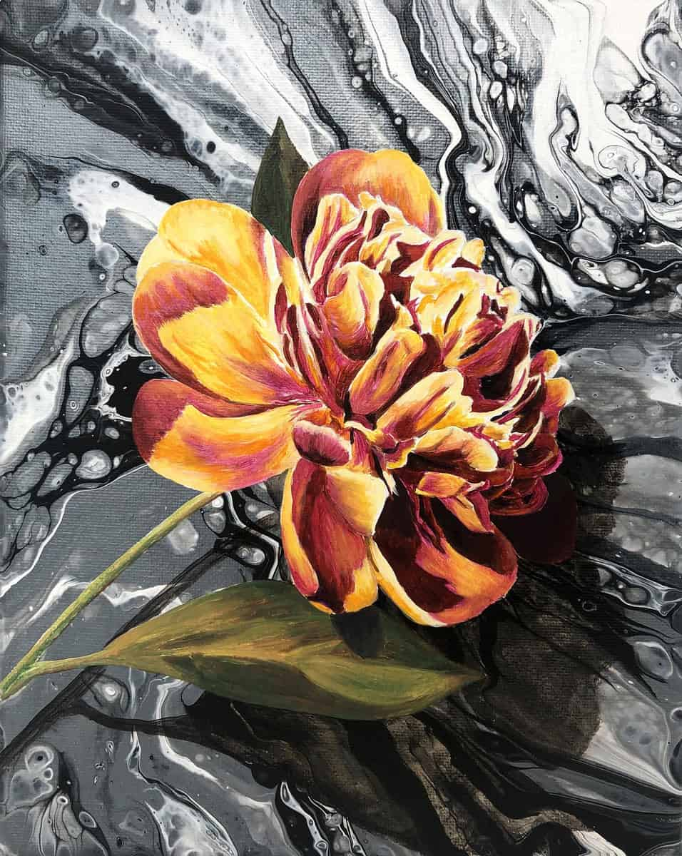 8 Acrylic Pouring Flowers For All You Botanist Wannabees Acrylicpouring Com