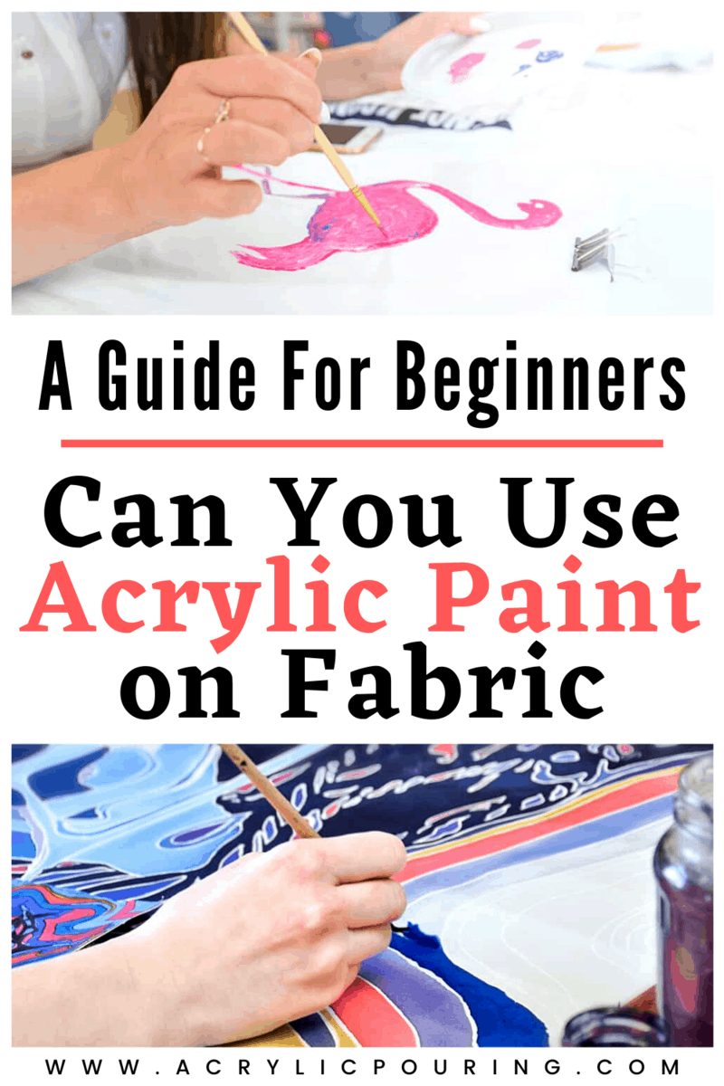 Can You Use Acrylic Paint on Fabric: A Guide for Beginners